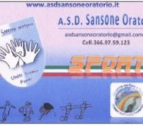Tesseramento ASD Sansone!
