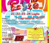 """""""Festa in Oratorio"""" dal 21 al 24 luglio"""