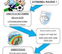 A.S.D. Sansone Oratorio: Pulcini pronti al via……!!!