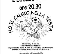 Pulcini Sansone: Open Day al Sansone Stadium