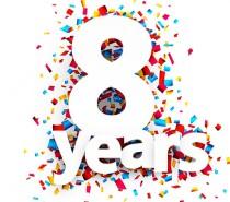 Sansone#8 : 2012>2020.. Buon compleanno !!