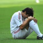 La delusione del brasiliano dopo la sconfitta con il Genoa 2008
