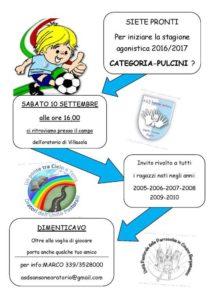 promo calcio pulcini new