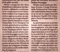 Tennis Tavolo: #1 Torneo Provinciale di DOPPIO  > Bertoldini&Bonacina lasciano il segno!!
